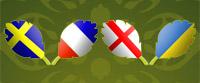 Švedska – Francuska | Engleska – Ukrajina