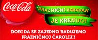 Coca Cola karavan u Nišu