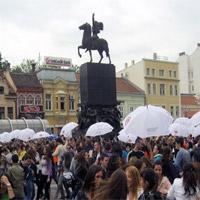 Maturantska parada u čast Edikta
