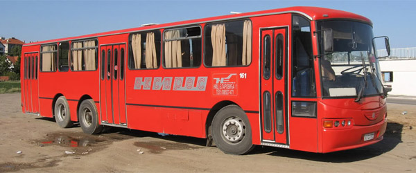 Izložba u autobusu