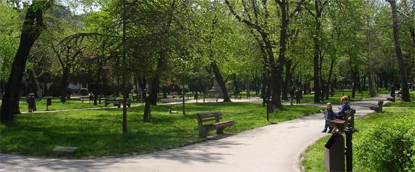 Novi park u Nišu