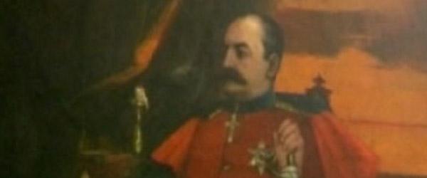Portret kralja Milana u Nišu