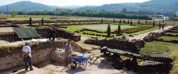 Obnavljanje Konstantinove vile