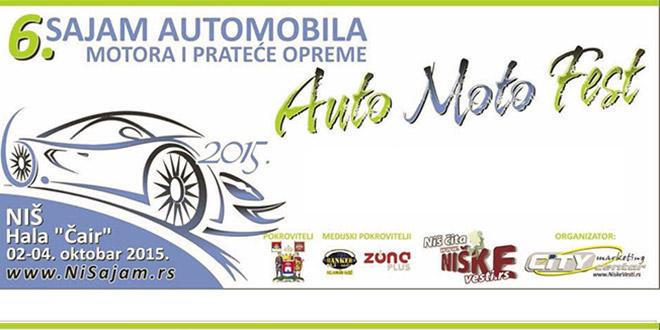 Auto-moto fest 2015 / nagradna igra