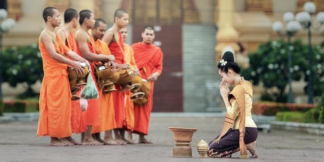 Budistički monasi na Tajlandu